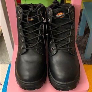 b563516d4e9 Dickies Shoes | Mens Leather Steel Toe Boots Truxx Sz 75 | Poshmark